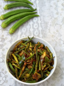 Bhindi Fry | Lady Fingers Recipe