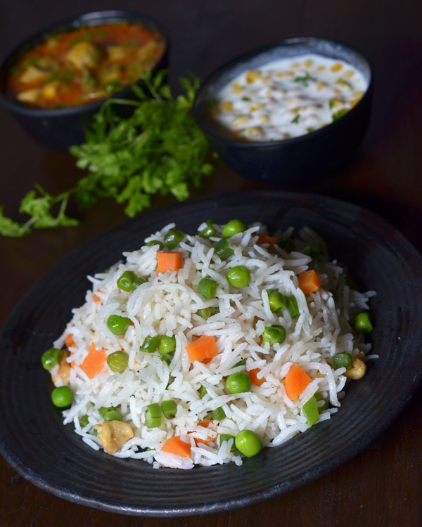 Veg Pulao | Vegetable Pulav Recipe