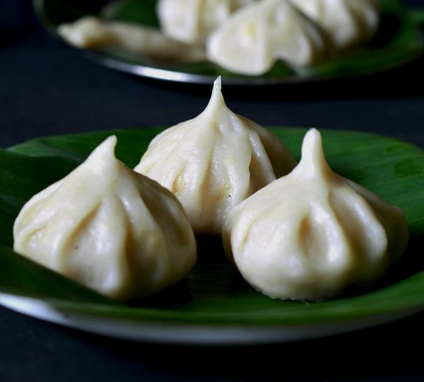 Ganapati Naivadya Sweet Coconut Modak