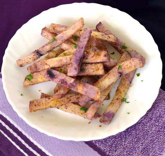 Baked Yam Fries