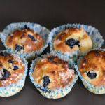 Blueberry muffins reipe
