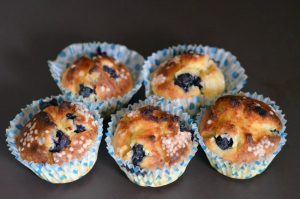 Blueberry Muffins | Recipe for Muffins