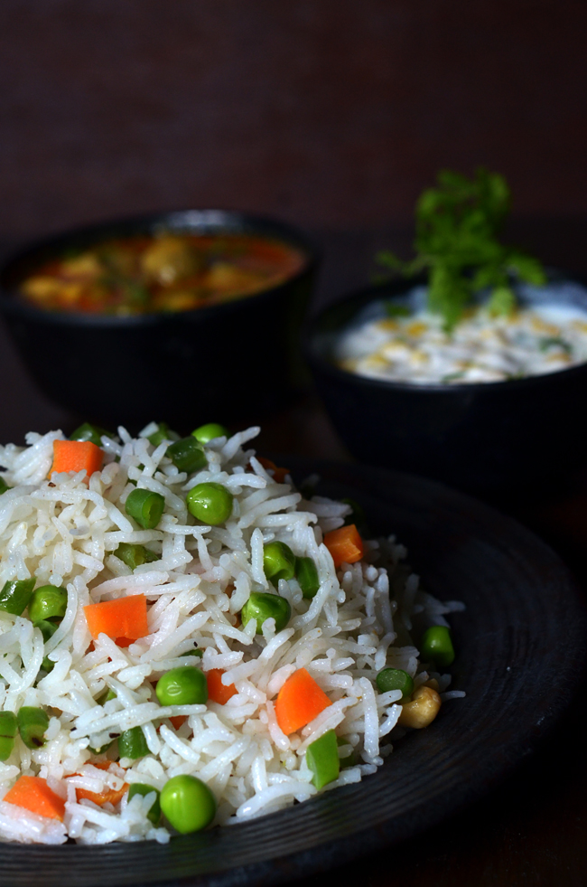 veg pulav in marathi