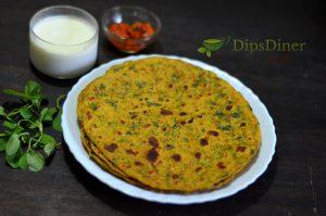 Methi Thepla Recipe in Marathi | How To Make Thepla