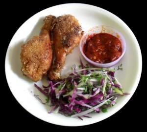 Crunchy Chicken Fry