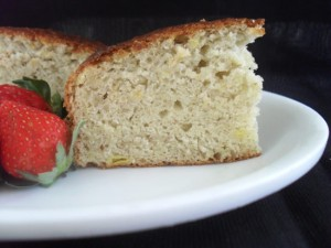 Banana Cake Without Eggs