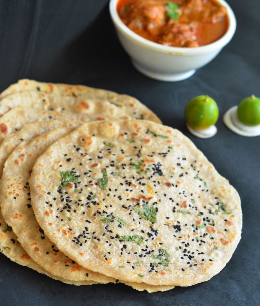Step by step recipe to make kulcha at home