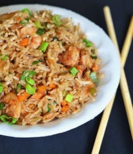 prawn fried rice recipe | how to make prawn fried rice