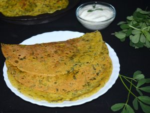 Jwari Methiche Dhirde Recipe in Marathi