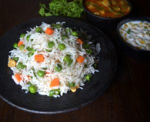 Veg Pulao | Vegetable Pulav Recipe
