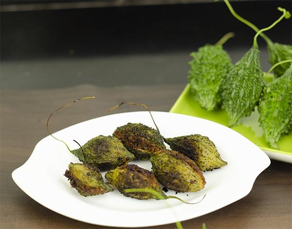 Food Style stuffed karela भरली कारली मराठी