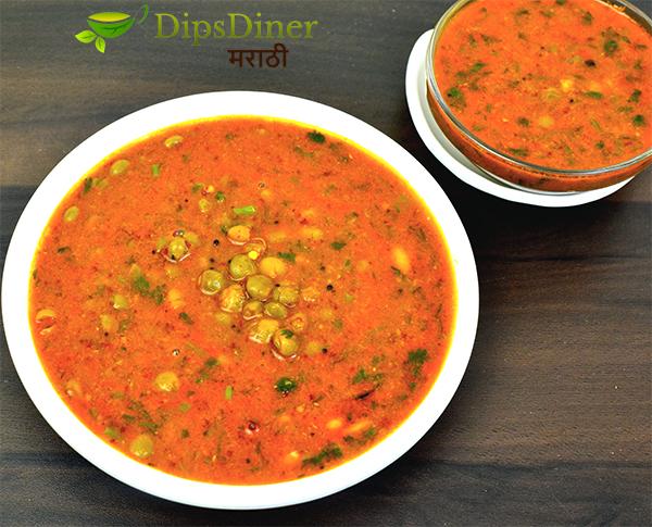 Olya Toorichya Danyanchi Amti | Toorichi Usal Recipe | Food Style