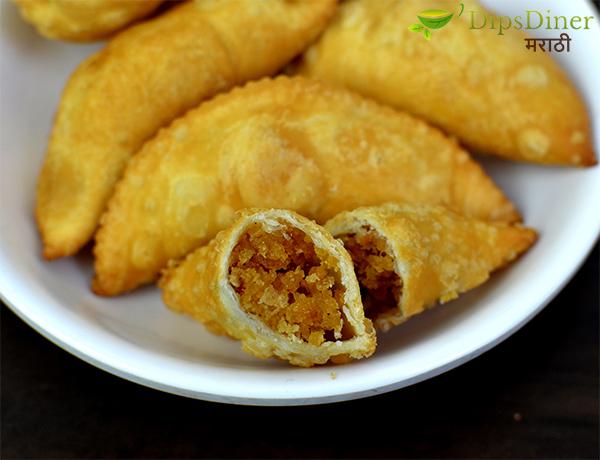 Narali Pournima Special recipe Olya Narlachi Karanji