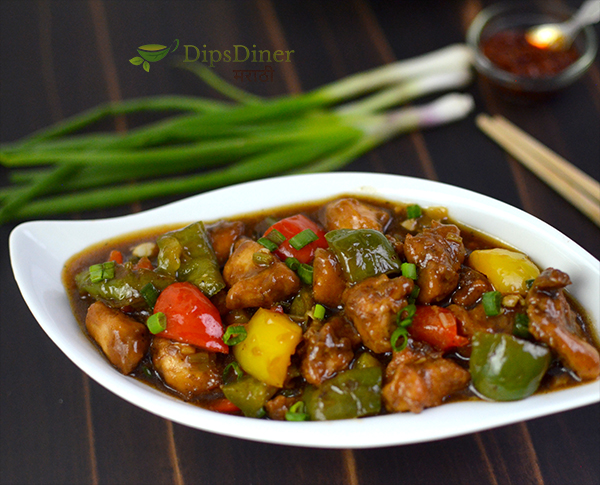chicken chilli gravy recipe in marathi