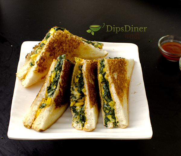 spinach-corn-sandwich